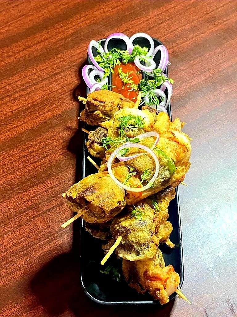 Mutton Skewers Recipe    Mutton Shish Kebab Recipe    Indian Street Food