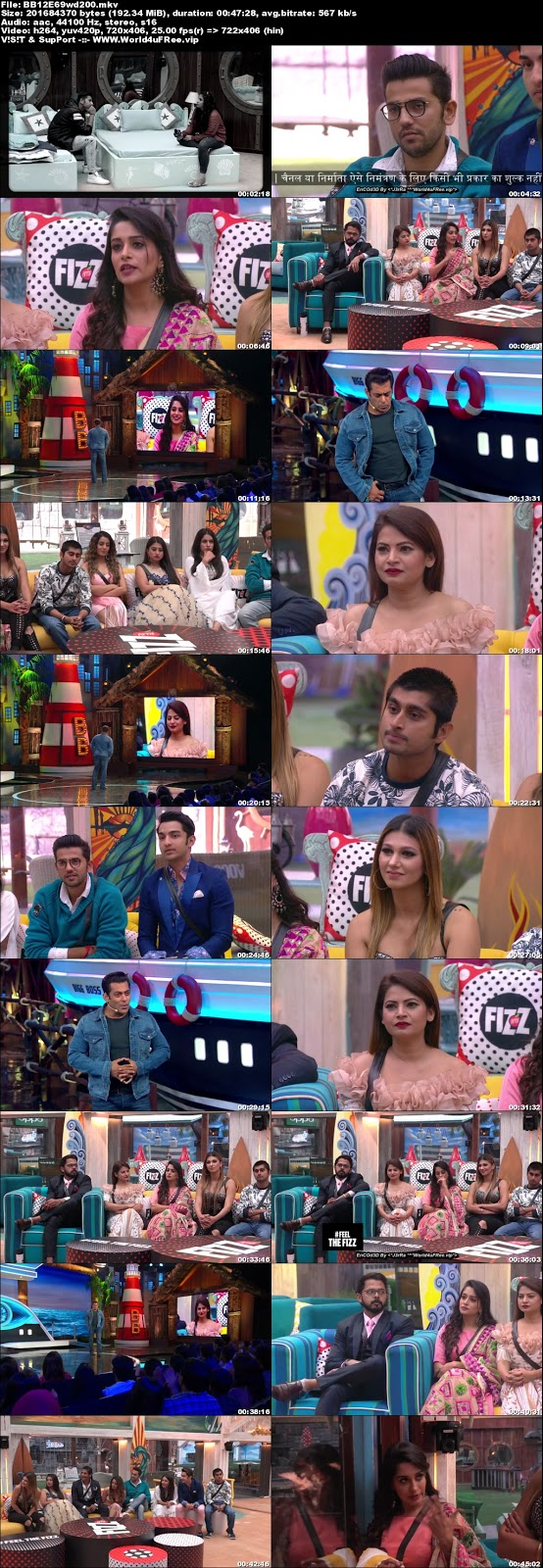 Bigg Boss 12 Episode 69 24 November 2018 WEBRip 480p 200Mb x264 world4ufree.vip tv show Bigg Boss 12 download Episode 69 24 November 2018 world4ufree.vip 200mb compressed small size free download or watch online at world4ufree.vip