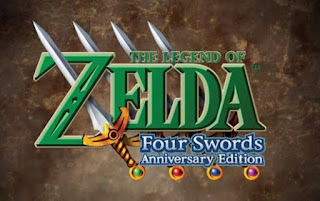 The Legend of Zelda: Four Swords - Anniversary Edition, 3DS, eShop, Español, Mega, Mediafire