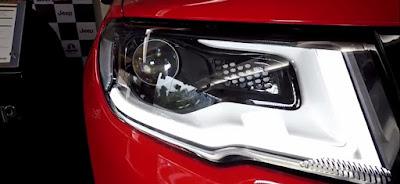 Jeep compass headlight