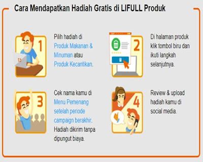 Cara Mendapatkan Hadiah Gratis di LIFULL Produk