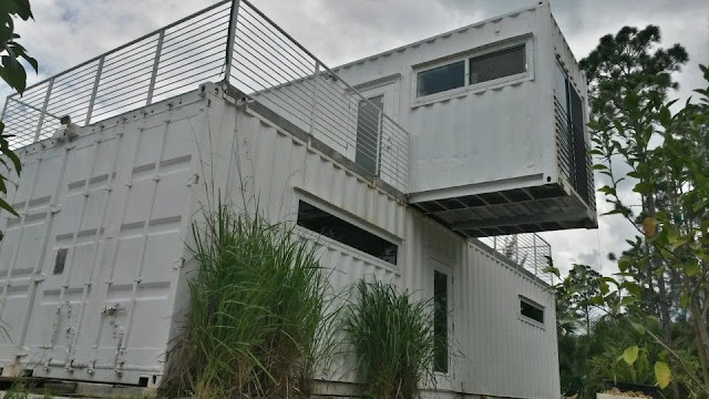 Headwaters Eco Retreat Shipping Container House, Florida 8