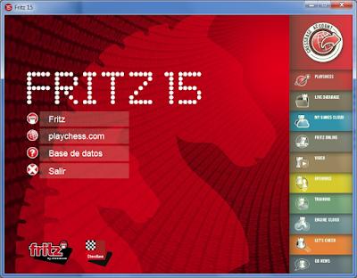 Interfaz renovada del Fritz 15