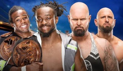 The new day vs Luke Gallows vs Karl Anderson Summerslam match results, predictions