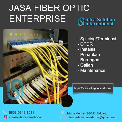 Jasa Splicing Fiber Optic Ngawi Enterprise