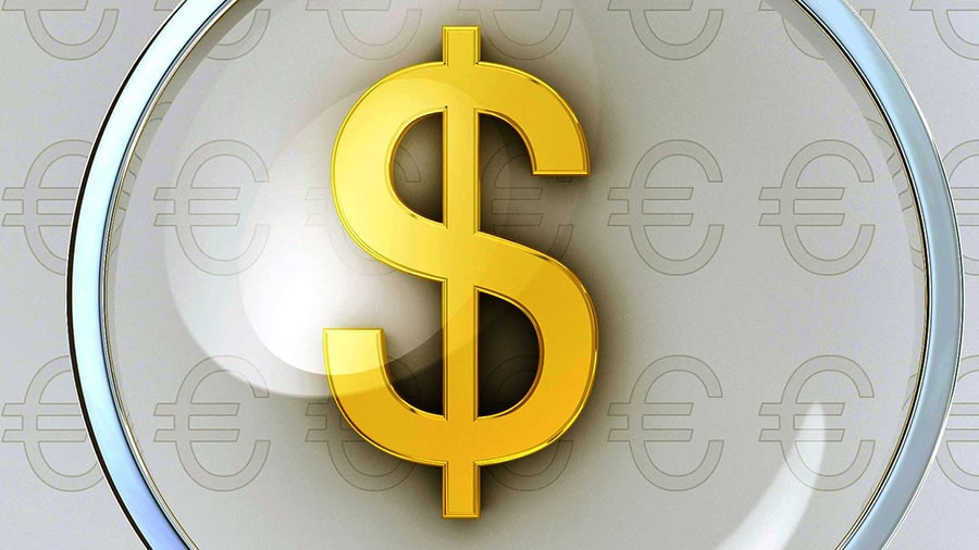 Рассматриваем символ доллара, знак валюты США
