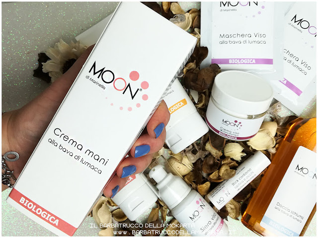 crema mani packaging biocosmesi moon lumaca