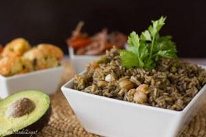 Djon Djon- Haitian Black Mushroom Rice