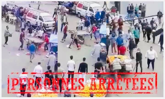"""بالصورة..أمن مولاي رشيد يتفاعل مع فيديو """"الرعب"""" ويعتقل 3 أشخاص تبادلو الضرب والجرح بواسطة السلاح الأبيض ✍️👇👇👇"""