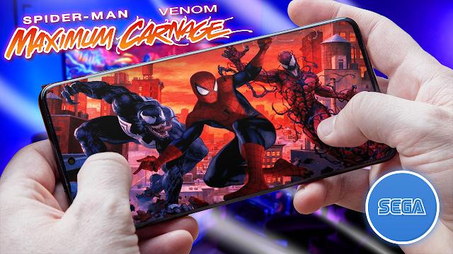 Spider-Man & Venom Para Teléfonos Android (ROM SEGA)