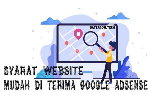Syarat Website Mudah di Terima Google Adsense