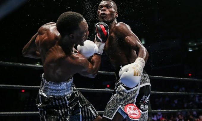 Ghana's Richard Commey beaten by Easter to claim lightweight title