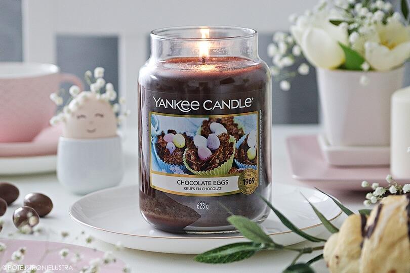 yankee candle chocolate eggs wielkanoc 2020
