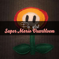 Pin getest - Super Mario vuurbloem