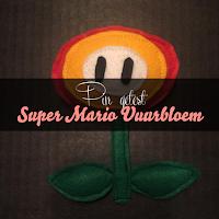 Pin getest - Super Mario vuurbloem