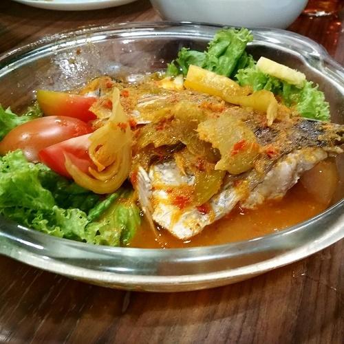 Ikan Asam Pedas - Sop Ikan Batam Lulu Hypermarket Cakung