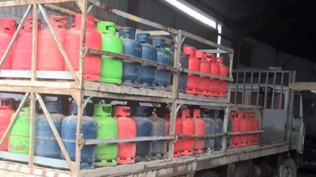 المهدية : حجز 32 قارورة غاز منزلي في مخزن عشوائي