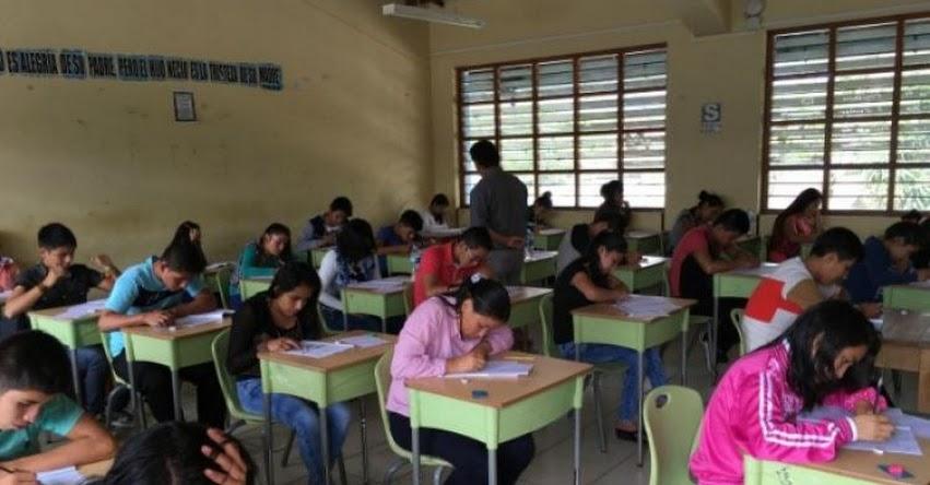 Este domingo rinden Examen de Admisión para postular a Beca 18 en Moyobamba y Tarapoto - DRE San Martín - www.dresanmartin.gob.pe