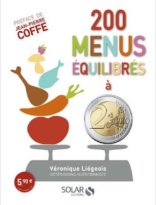 Télécharger Livre Gratuit 200 menus équilibrés à moins de 2 euros pdf