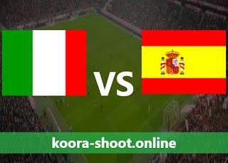 تفاصيل مباراة اسبانيا وايطاليا اليوم بتاريخ 06/07/2021 يورو 2020