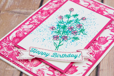 Bright Touches of Texture Birthday Card made using supplies from Stampin' Up! UK which you can buy here