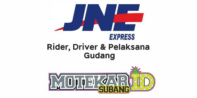 Info Lowongan Kerja JNE Express Maret 2021 - Motekar Subang