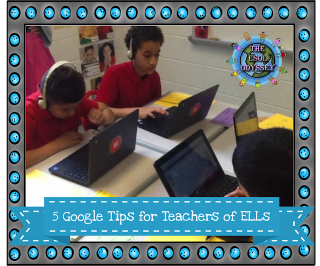 If you're an ELL teacher, these Google tips will help you with improving communication with parents, differentiating, and  with language growth for your students. Check it out to learn more.