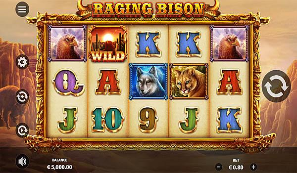 Main Gratis Slot Indonesia - Raging Bison Stakelogic