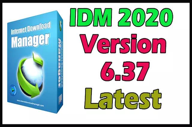 Download IDM 2020 Version 6.37 Build 11 With IDM Crack