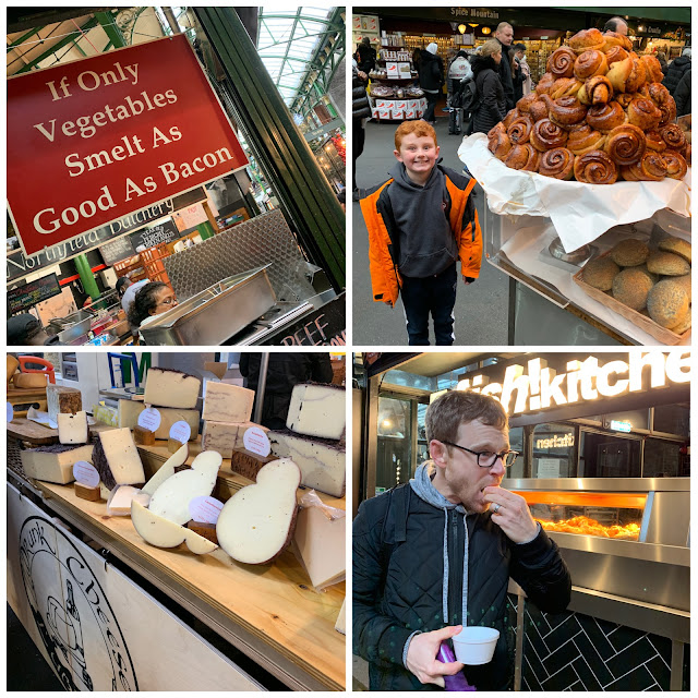 Borough Market London with Kids