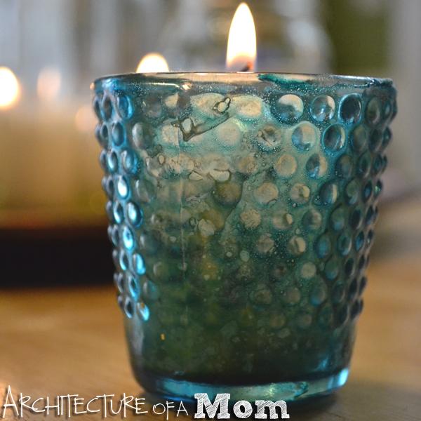 Architecture Of A Mom Colored Mercury Glass