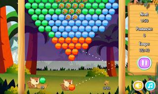 Jogue Squirrel Bubble Shooter online