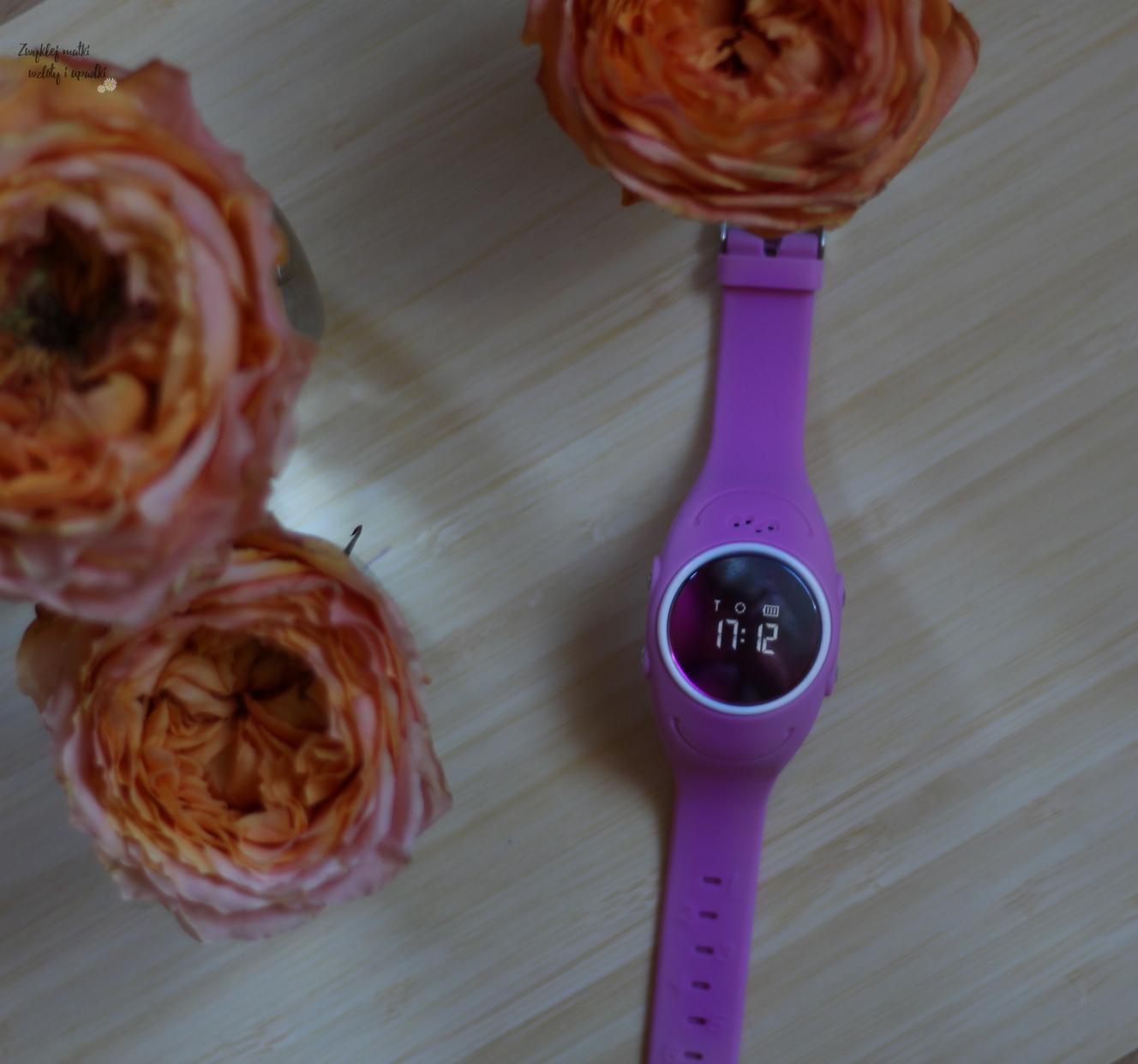 Bezpieczne dziecko - zegarek z GPS
