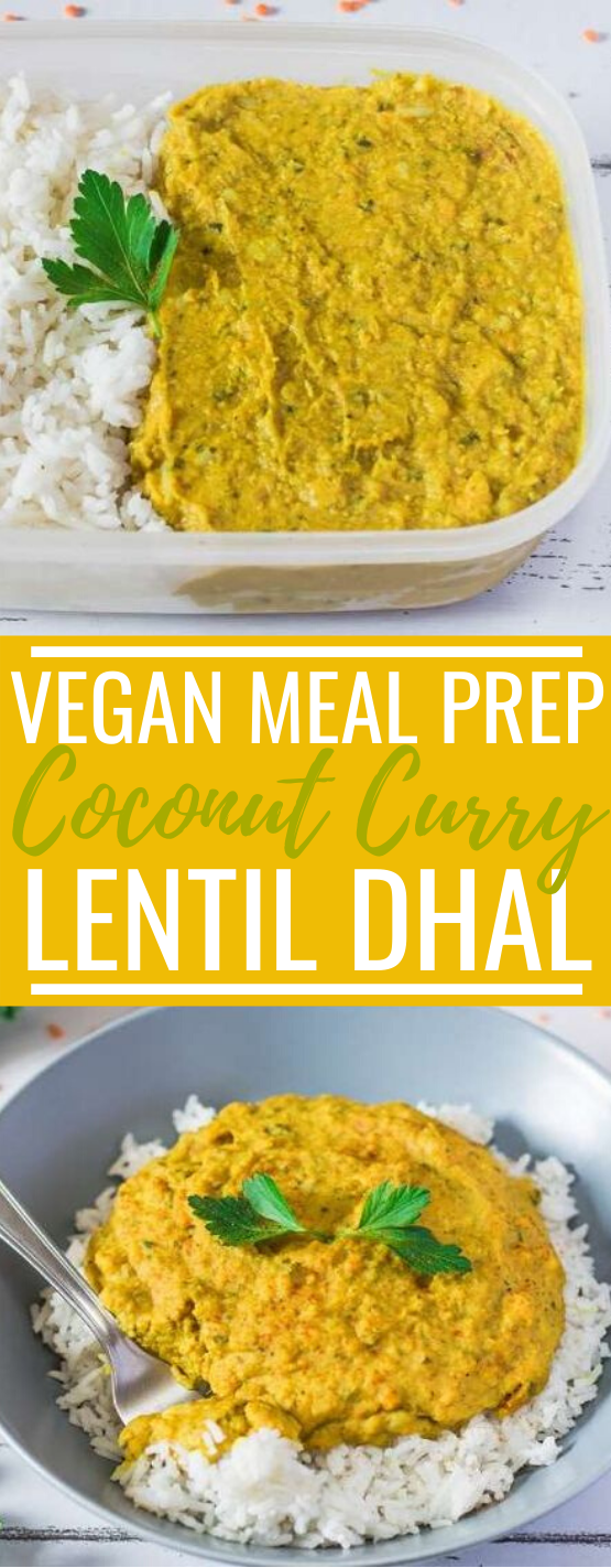 Coconut Curry Lentil Dhal | Gluten-Free, Oil-Free #vegan #dinner #glutenfree #curry #meatless
