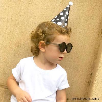 chapeuzinho festa preto branco sem tema