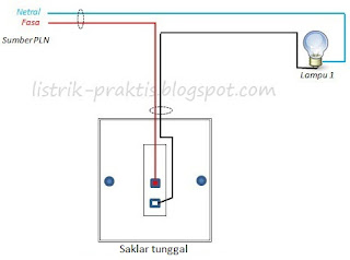 Wiring lampu outdoor sebelum pasang photocell