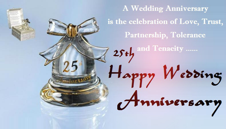 25th wedding anniversary wishes for wife silver jubilee quotes