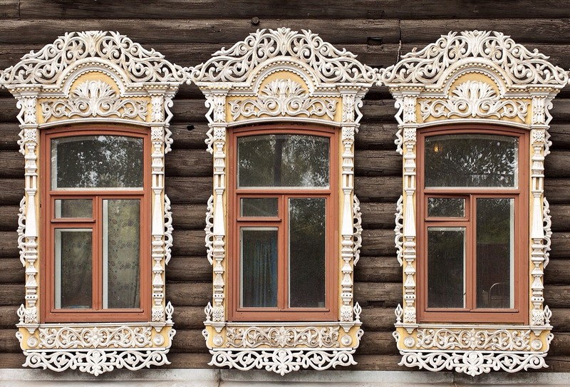 What Talk Window Frames Russian Houses: Symbolism in Wooden Architecture