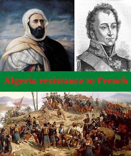 Algeria resistance to French Invasion
