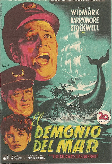 Programa de Cine - El Demonio del Mar - Richard Widmark - Lionel Barrymore