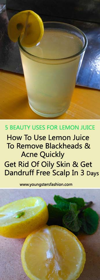 5 Wonderful Beauty Uses For Lemon Juice