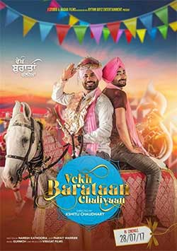 Vekh Baraatan Challiyan 2017 Punjabi Movie HDRip 720p at movies500.me