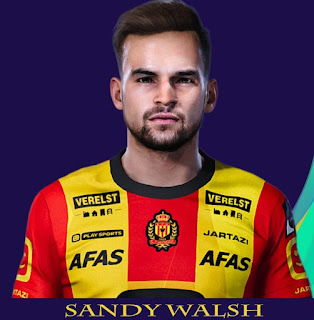 PES 2021 Faces Sandy Walsh by Rachmad ABs