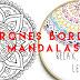PATRONES BORDADOS MANDALAS FÁCILES