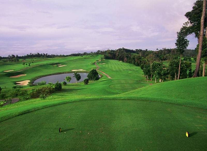 bintan resort ian baker finch woodlands golf course