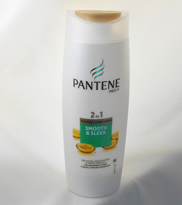 Pantene Pro v shampoo and conditioner smooth and sleek for hair