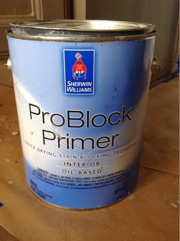 For Covering Up Over Minor Mold Water Damage Or Stains You Will Need A Heavy Acrylic Alkyd Primer Made This One That Keeps It From Bleeding Back