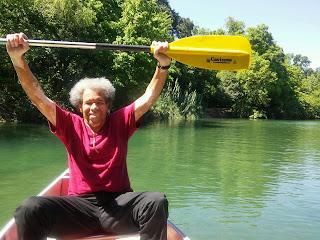 Albert Canoeing