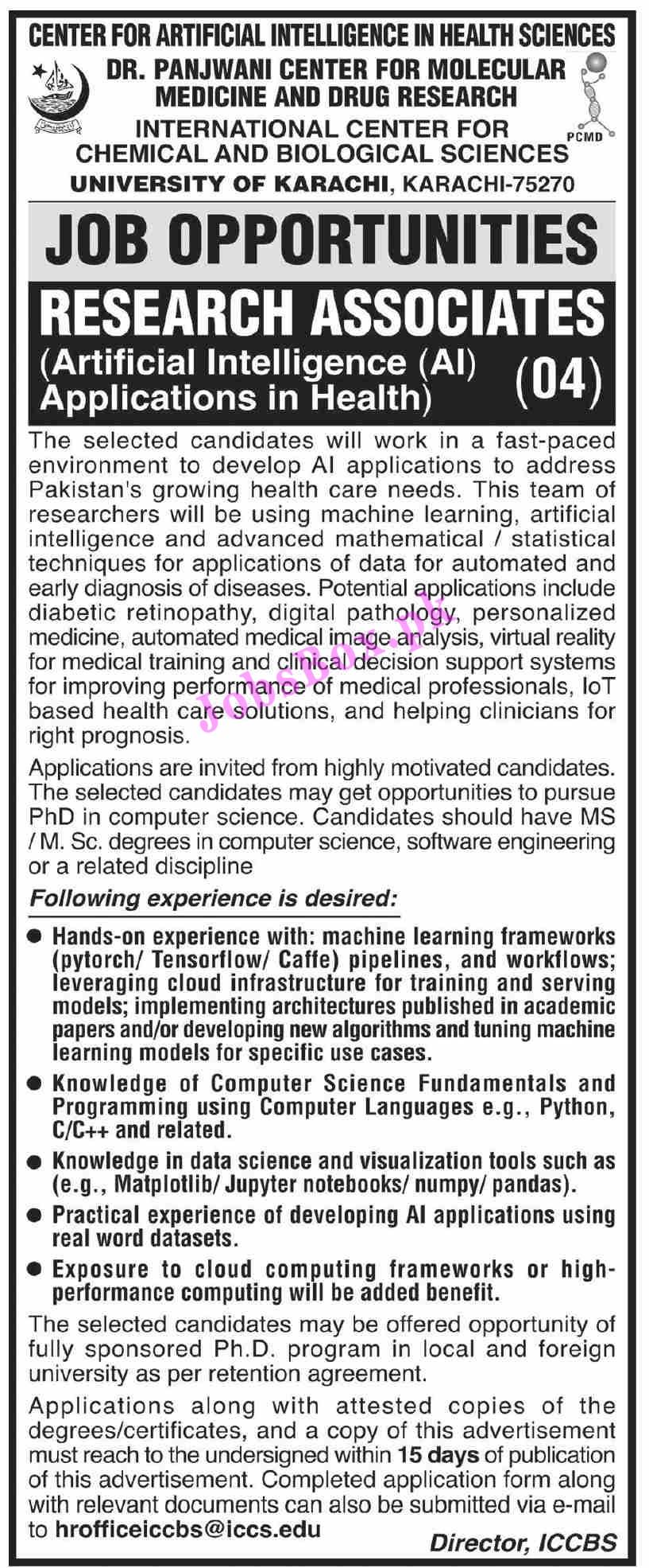 University of Karachi UOK Jobs 2021 All Advertisements