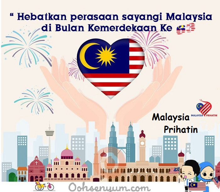 Merdeka 2020 Poster Kemerdekaan Malaysia Prihatin